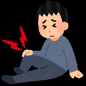 膝の痛みー鷲足炎